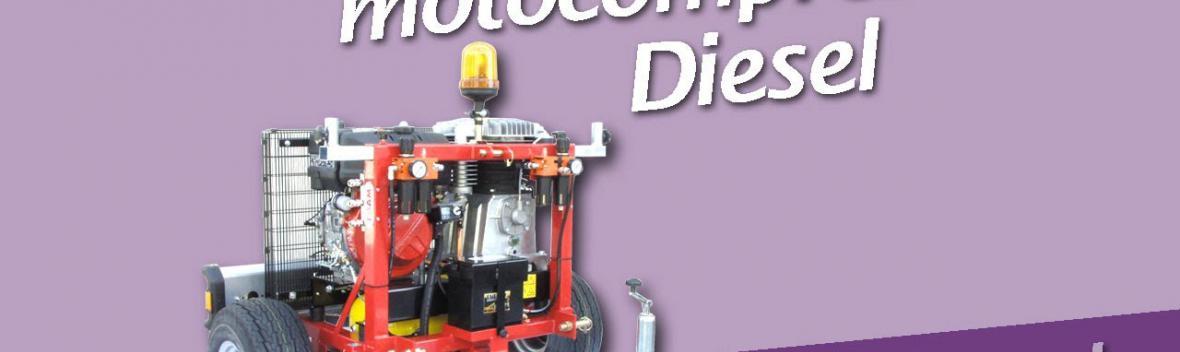 Motocompressori Diesel Lisam per la raccolta Olive