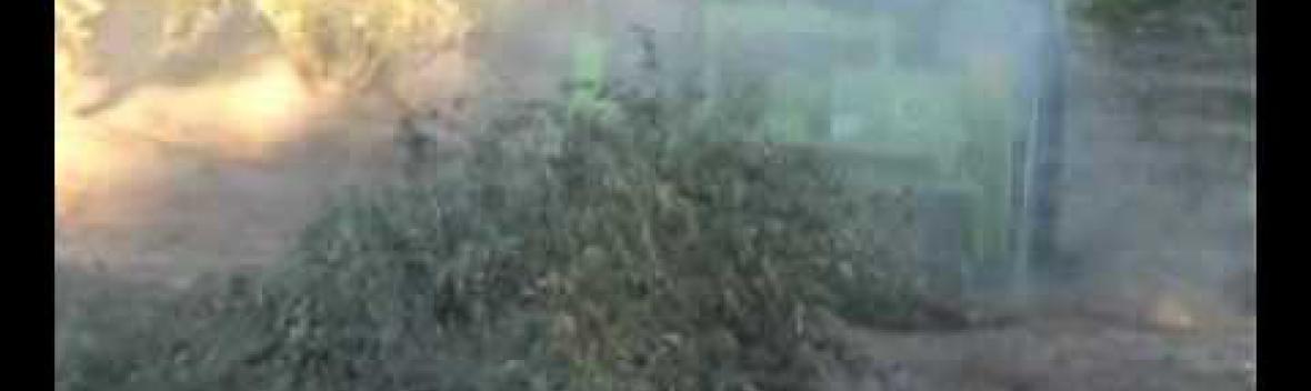 trituradora de restos de poda AGARIN