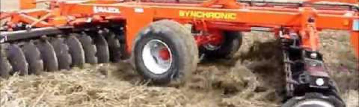 RAZOL - SYNCHRONIC CIN Cover-crop en V repliage en long