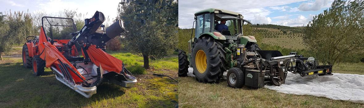 AGROMELCA: colhedoras de azeitona e frutos secos